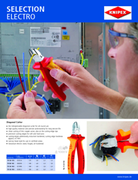 KNIPEX Tools Electrical Industry Brochure