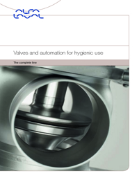 ALFA LAVAL Valves Hygienic Valves Catalogue