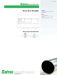 EXIMO Grain Duct Straights Catalogue