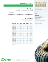 EXIMO Clearflex Ducting Catalogue