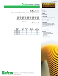 EXIMO Yellow Belly Hose Catalogue