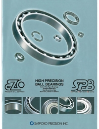 EZO Bearings Miniature Series Catalogue