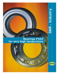 SNR Bearings High Temperature Series Brochure