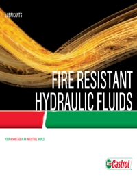 CASTROL Fire Resistant Hydraulic Fluids Catalogue