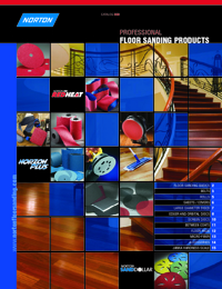 NORTON Abrasives Floor Sanding Catalogue