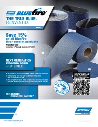 NORTON Abrasives Blue Fire Range Brochure