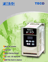 TECO Electric Motors Micro Inverter Catalogue