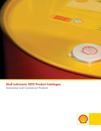 SHELL Lubricants Catalogue