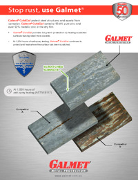 GALMET Comparitive Product Flyer