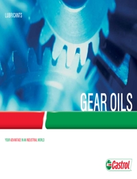 CASTROL Gear Olis Catalogue