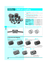 MIKI PULLEY Power Transmission Helical Series Catalogue
