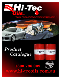 HI TEC OILS Lubricants Catalogue