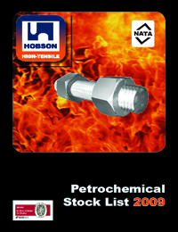 HOBSON Fasteners High Tensile Petrochemical Range Catalogue
