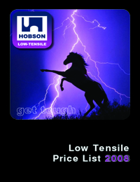 HOBSON Fasteners Low Tensile Range Catalogue