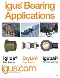 IGUS Plastic Polymer Bearing Applications