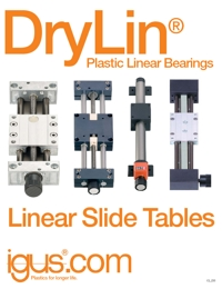 IGUS Plastic Polymer Linear Bearings Catalogue