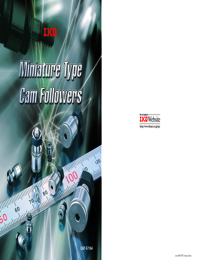 IKO Bearings Miniture Cam Followers Brochure