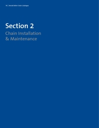 RENOLD Chain Roller Series Installation & Maintenance Guide