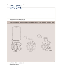 ALFA LAVAL Valves Butterfly Valves Instruction Manual
