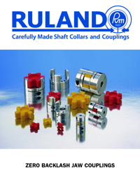 RULAND Couplings Zero Backlash Jaw Series Catalogue