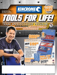 KINCROME Tools Apprentice Tools Incentive Brochure