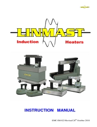 LINMAST Bearing Induction Heaters Instruction Manual