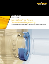 KLUBER Lubricants Lube & Seal Catalogue