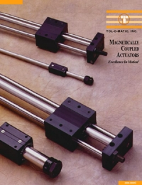 TOLOMATIC Power Transmission Magnetically Coupled Actuators Catalogue