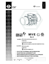 OLI Vibrators Explosion Proof Catalogue