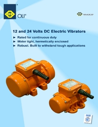 OLI Vibrators DC Electric Vibrators Catalogue