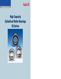 NACHI Bearings High Capacity Cylindrical Roller Series Catalogue
