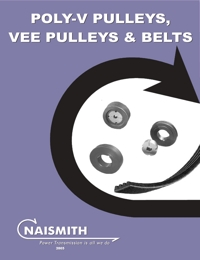 NAISMITH Power Transmission Poly V Pulleys, V Pulleys & V Belts Catalogue