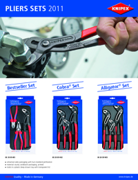 KNIPEX Tools Plier Sets Brochure