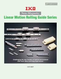 IKO Bearings Non Magnetic Linear Motion Series Brochure