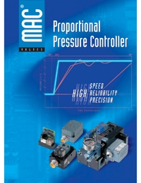 MAC Valves Proportional Pressure Controller Catalogue