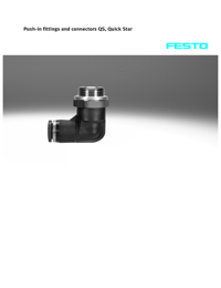 FESTO Pneumatics Push In Fittings Catalogue