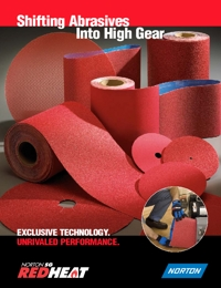 NORTON Abrasives Red Heat Range Brochure