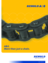 RENOLD Chain A & S Roller Series Catalogue