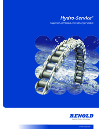 RENOLD Chain Hydro Service Roller Series Catalogue