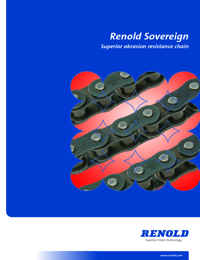 RENOLD Chain Sovereign Roller Series Catalogue