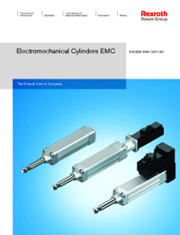 REXROTH Linear Bearings Electromechanical Cylinders Series Catalogue