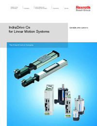 REXROTH Linear Bearings Indra Drive Series Catalogue
