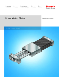 REXROTH Linear Bearings Linear Motion Slide Series Catalogue