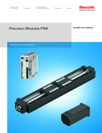 REXROTH Linear Bearings Precission Module Series Catalogue