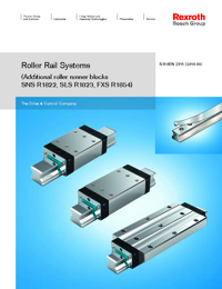 REXROTH Linear Bearings Roller Rail Series Catalogue
