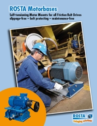 ROSTA Tensioners Motor Base Series Catalogue