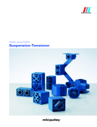 ROSTA Tensioners MIKI Series Catalogue
