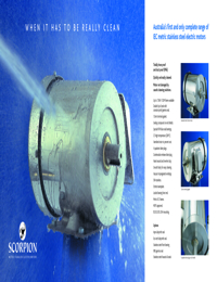 SCORPION Motors Stainless Steel Series Brochure