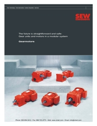 SEW EURODRIVE Geared Motors Range Overview Catalogue