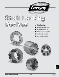 LOVEJOY Couplings Shaft Locking Devices Catalogue